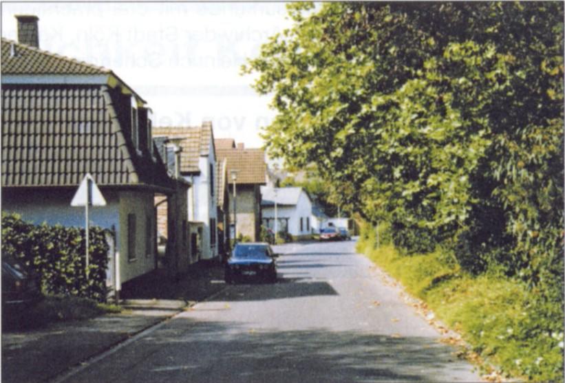 Die Unterdorfstraße