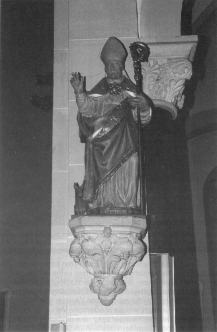 Der hl. Germanus, Pfarrkirche in Wesseling