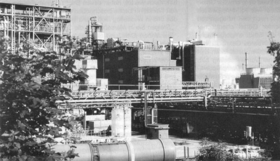Industrie in Wesseling